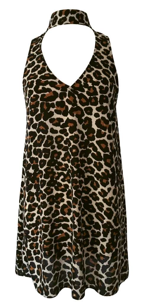 Don't Cheetah on Me A Mumu collared dress makes date night wild and free. $140. Gallery Boutique