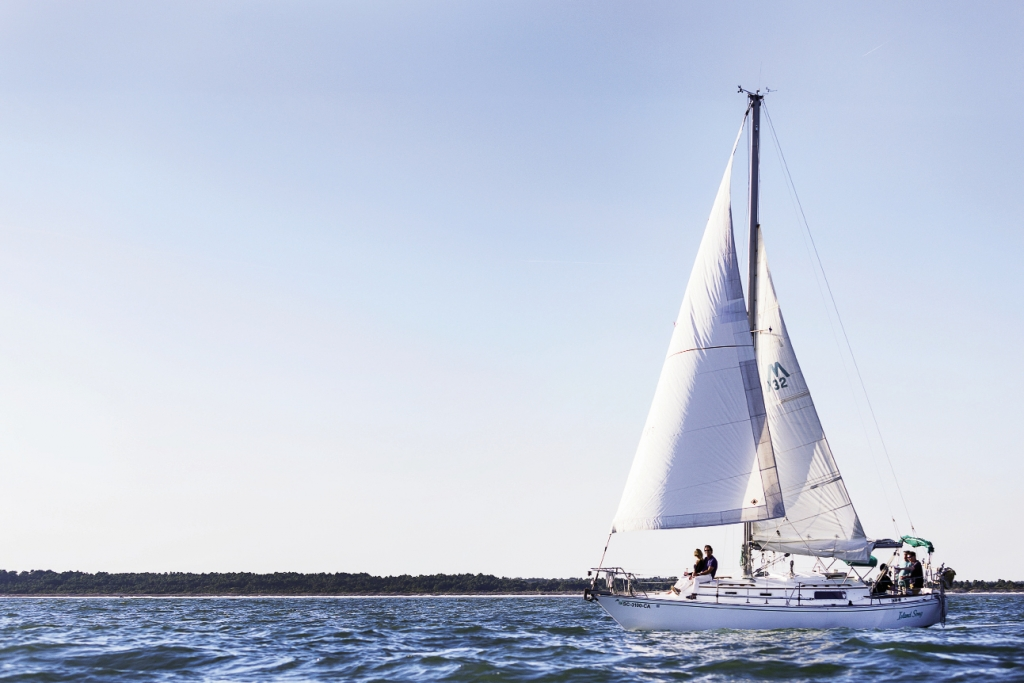 """The """"Island Song"""" sets out for a smooth sail along the coast of the Grand Strand."""