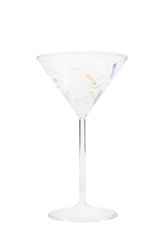 Saluti   Raise your Murano-inspired martini glass by Abigail's to toast this holiday season.   $23. The Wacky Rabbit, 7702 N. Kings Highway, Myrtle Beach. (843) 497-0717