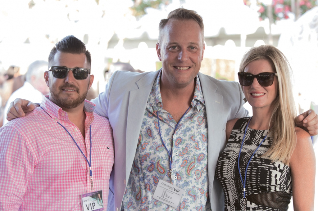 Ryan Adkins, Jamie Arnold and Kelle Siegmund