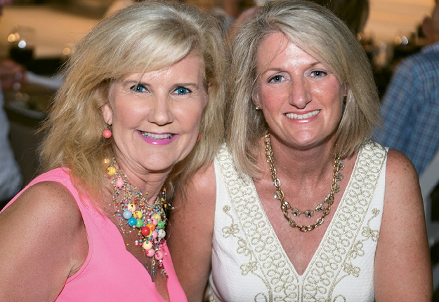 Lou Ellen Blackmon and  Gina Woodward Coates