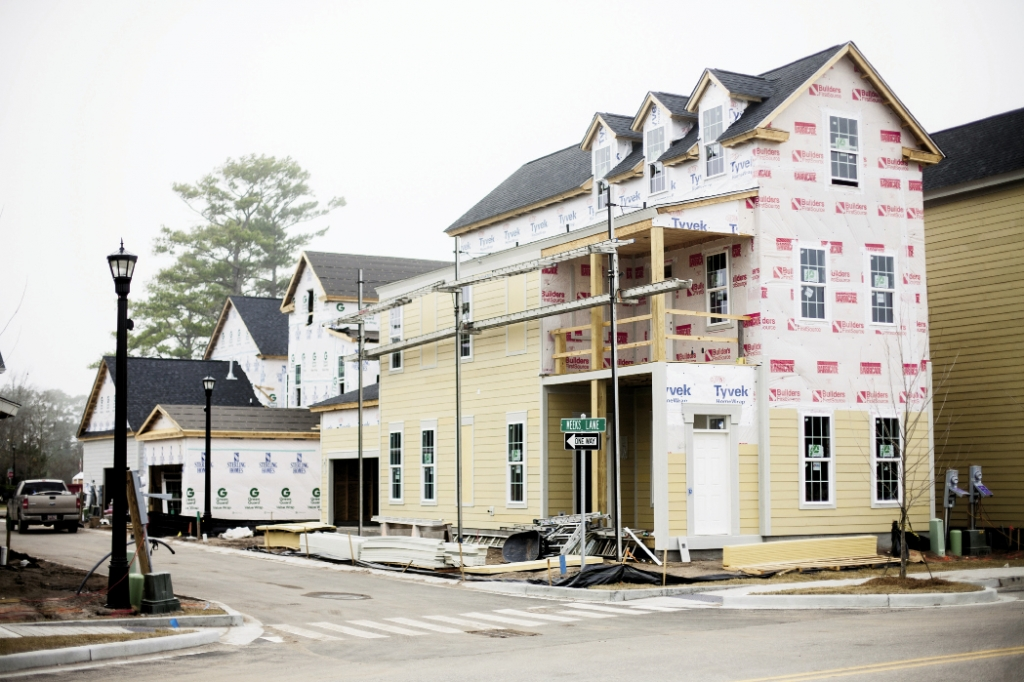 Building Boom: Residential building and real estate sales are enjoying a vigorous return to pre-mortgage crisis levels.