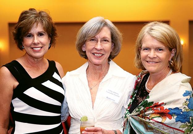 Sharon Benton, Kathy Jenkins and Martha Sledge