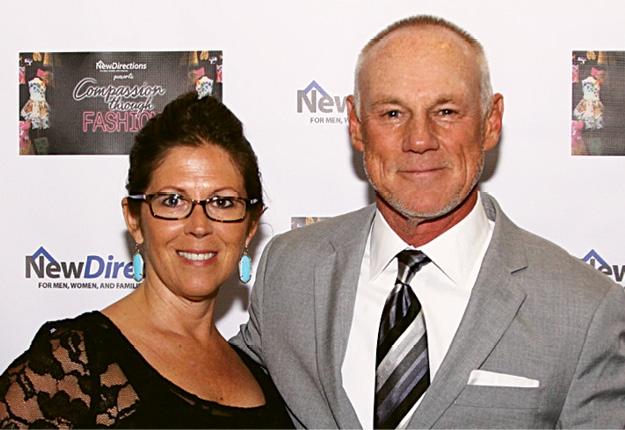 Lisa and Wade Davis
