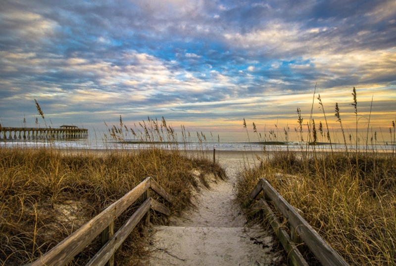 State Park Solitude Chuck Lawhon Myrtle Beach State Park