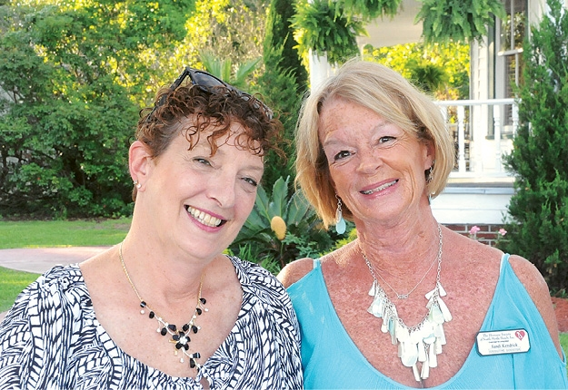 Karen Nadeau and Sandy Kendrick