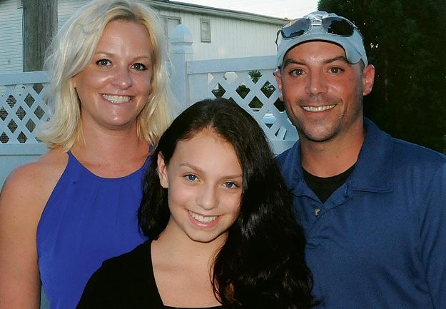 Dara, Alyssa and Rocco Gentile
