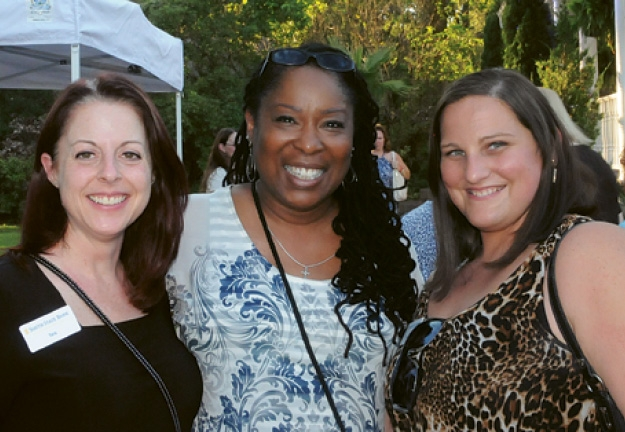 Tara Jackson, Pat Chestnut and  Tina Woods