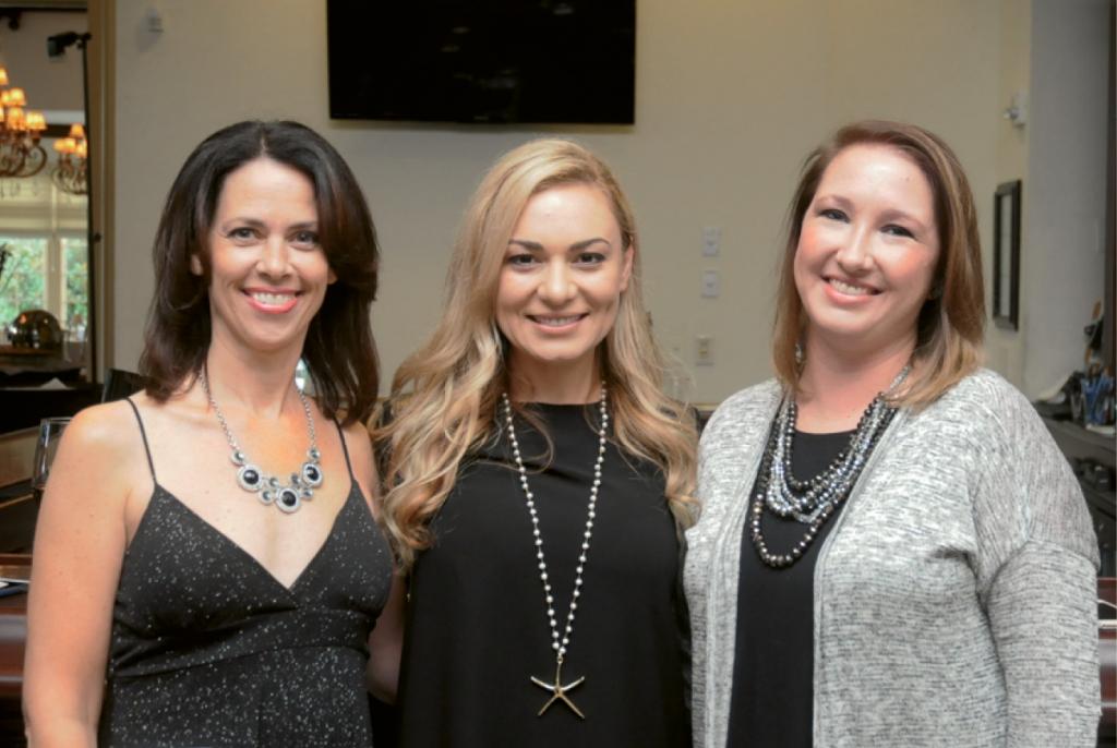Robin Doran, Vasilika Miller and Meredith Donahue