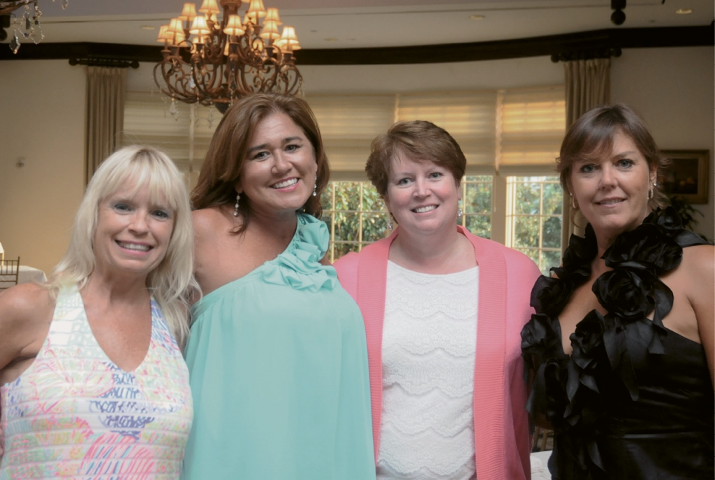 MariAnne Healy, Charlie Leone, Leann Hill and Pamela West