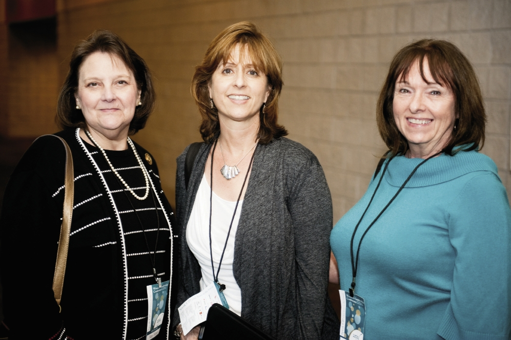 Mary Henry, Laura Townsend and Sharon Sluys
