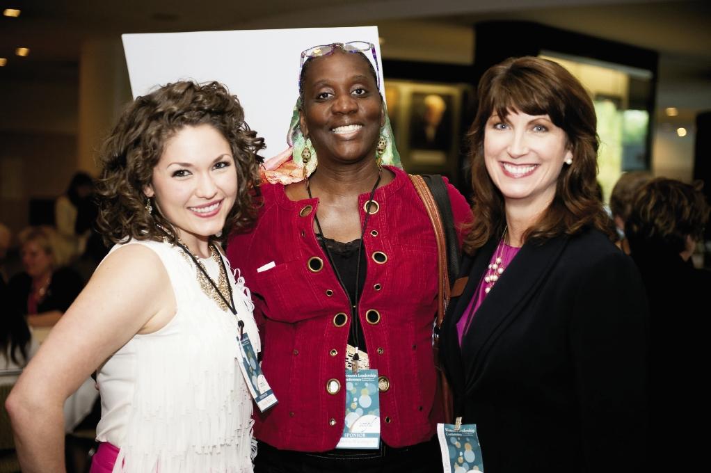 Nora Battle, Zenobia Washington and Martha Hunn