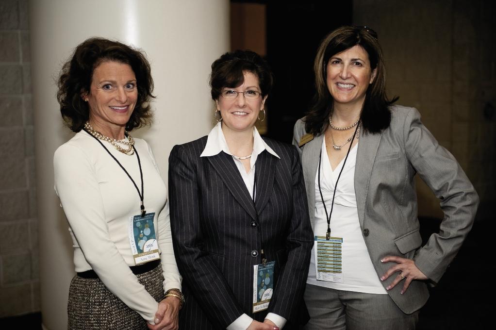 Anne Monk, Mary Jo Roberts and Jennifer Shinaberger