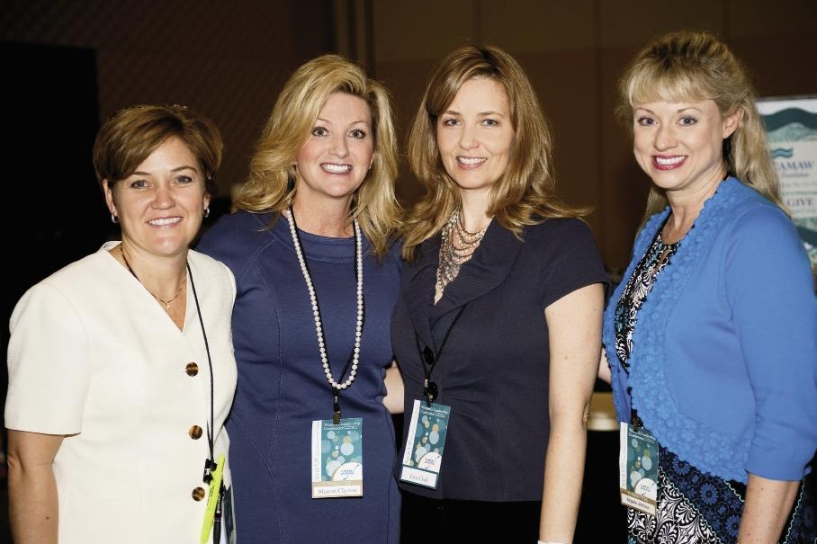 Debbie Conner, Sharon Clayton, Lisa Clark and Angela Johnson