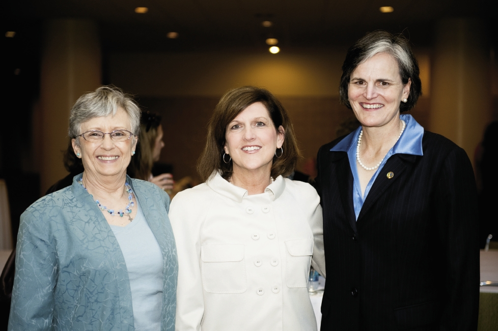 Kay Keels, Terri DeCenzo  and Tori Morden McClure