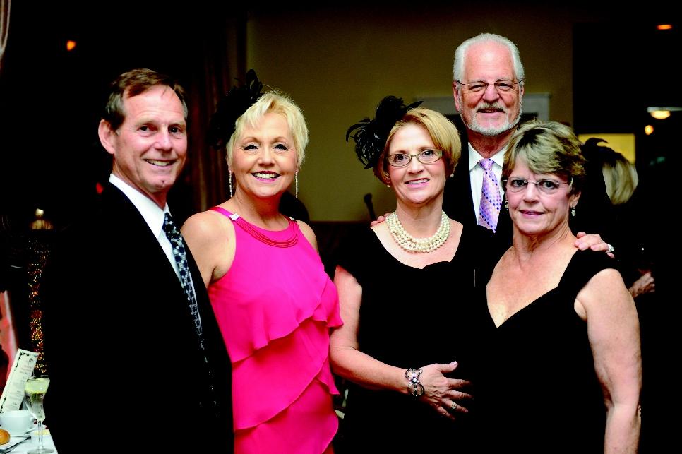 Hank Thomas, Mayor Marilyn Hatley, Joyce Thomas, David Hatley and Tommae Riley