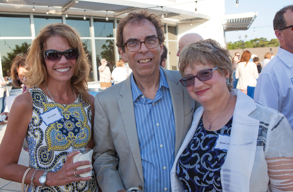 Kim Smith, Don Sloan and Renee Jackson