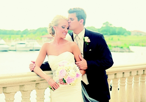 <p><br />Lindsay Jo Bannon and Adam Thomas Smith June 23, 2012</p>