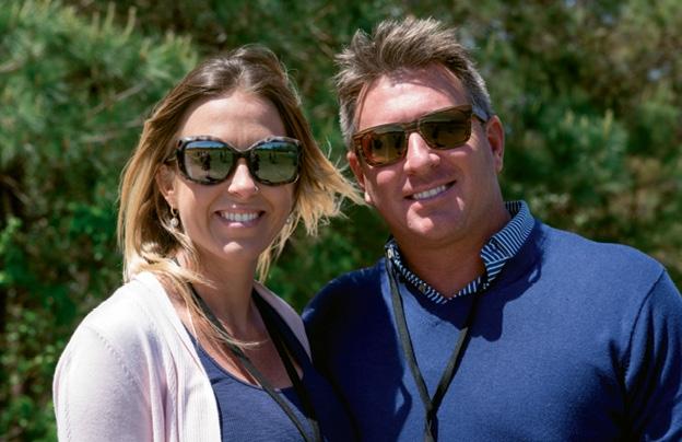 Monica Fine and Sean Couch
