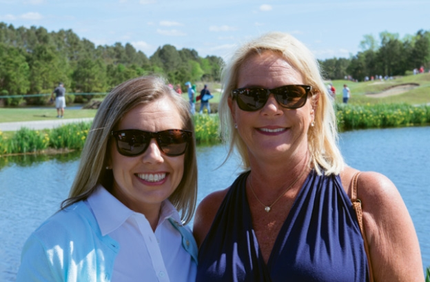 Gwen Cox and Teri Edgar