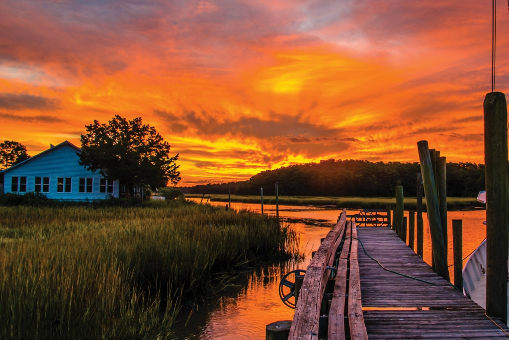 {READER's CHOICE AWARD WINNER} A Colorful Morning in Calabash, Photographer: Mark D. Head, Where: Calabash, North Carolina