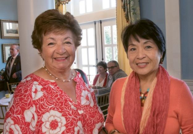 Katherine Jasmine and  Susan Soberano-Mediola