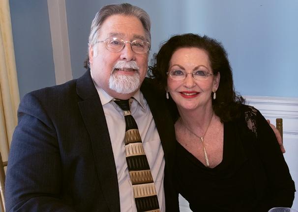 Ken Rapoport and Clayllene Gore