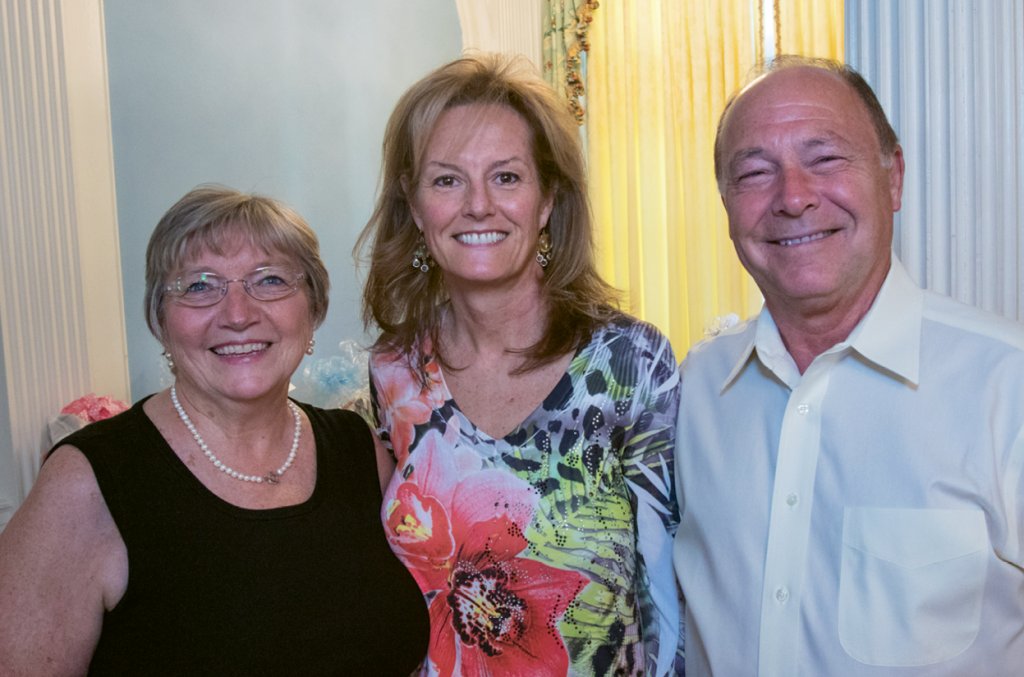 Peggy O'Neil, Amanda Thomas and Robert Bruner
