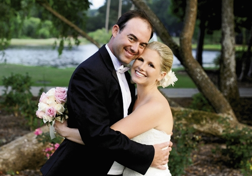 <p><br />Meredith Cross and Dustin Smith, June 30, 2012</p>