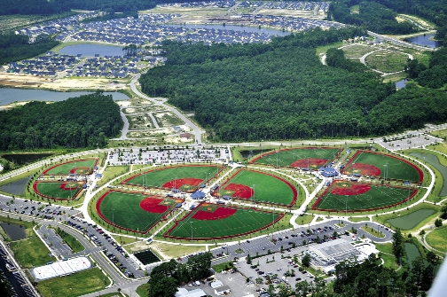 The city-owned athletic fields are the envy of most Grand Strand communities.