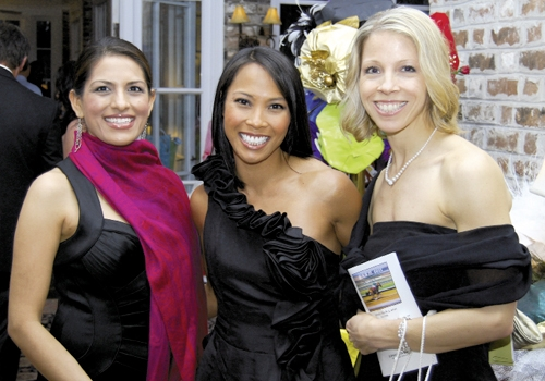Sudha Patel, Lori Lee Mendieta and Danielle Dupont