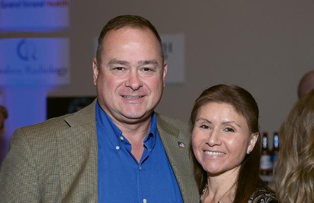 Paul and Stephanie Hughes