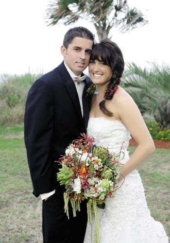 <p><br />Stephanie Orsimarsi and Ryan Wolf, June 18, 2011</p>