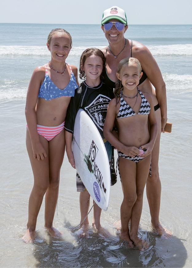 Emily, Peyton, Callie and Kim Shaw