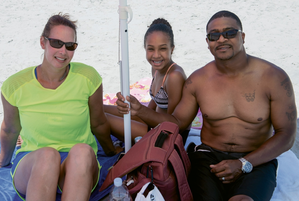 Alyssa, Kayla and Frankie Johnson