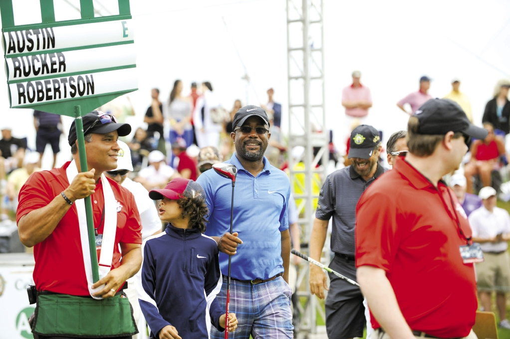 Monday After the Masters, held each April, brings all of the Hootie and the Blowfish band members together for the celebrity pro-am golf tournament and concert.