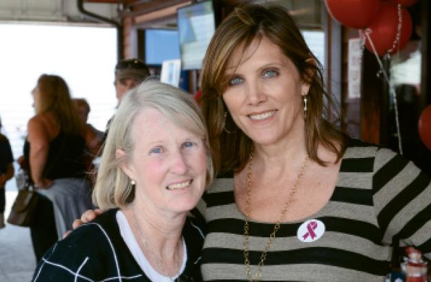 Carol Cunningham and Betsy Ross