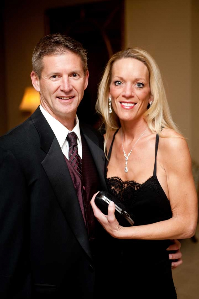 Joel  Foster and Karen Godbold