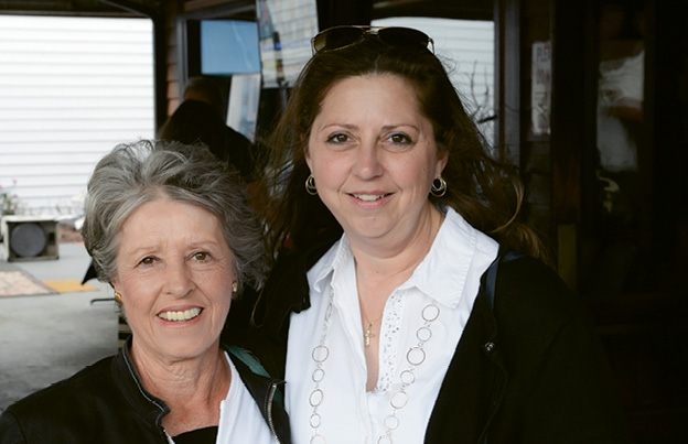 Annamaria Stephens and Michele Davies