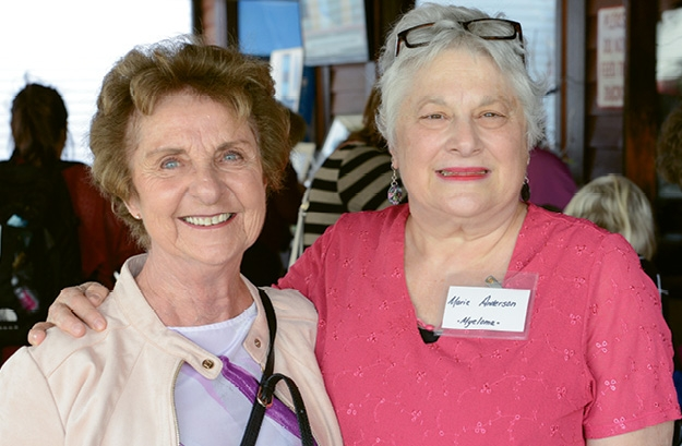 Alberta Smith and Marie Anderson