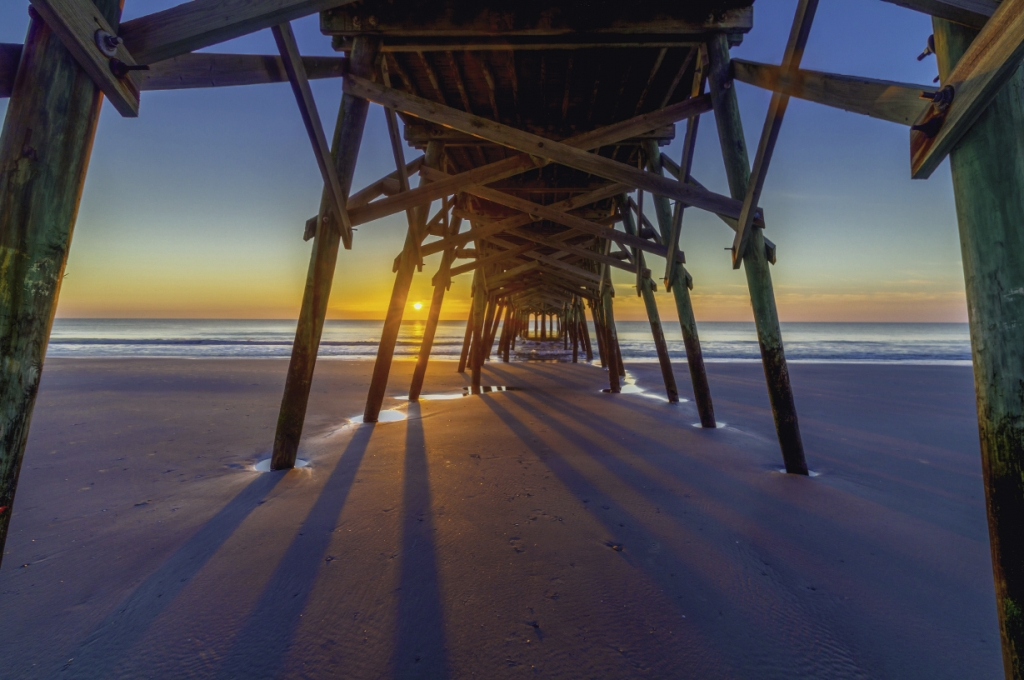 The 830-foot-long Surfside Beach Pier offers free access for residents and home owners. Others pay just $1.