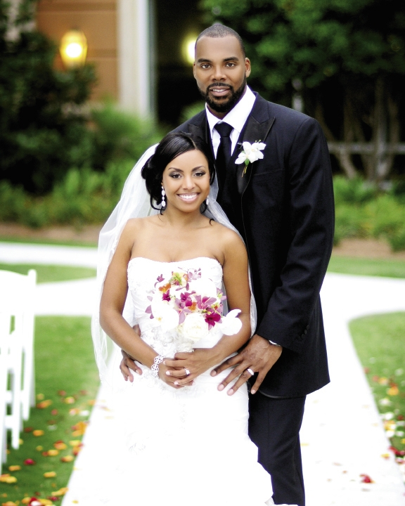 <p><br />Tiffany Graham and Christopher Wilcox July 23, 2011</p>