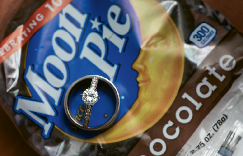 Moon Pies as favors