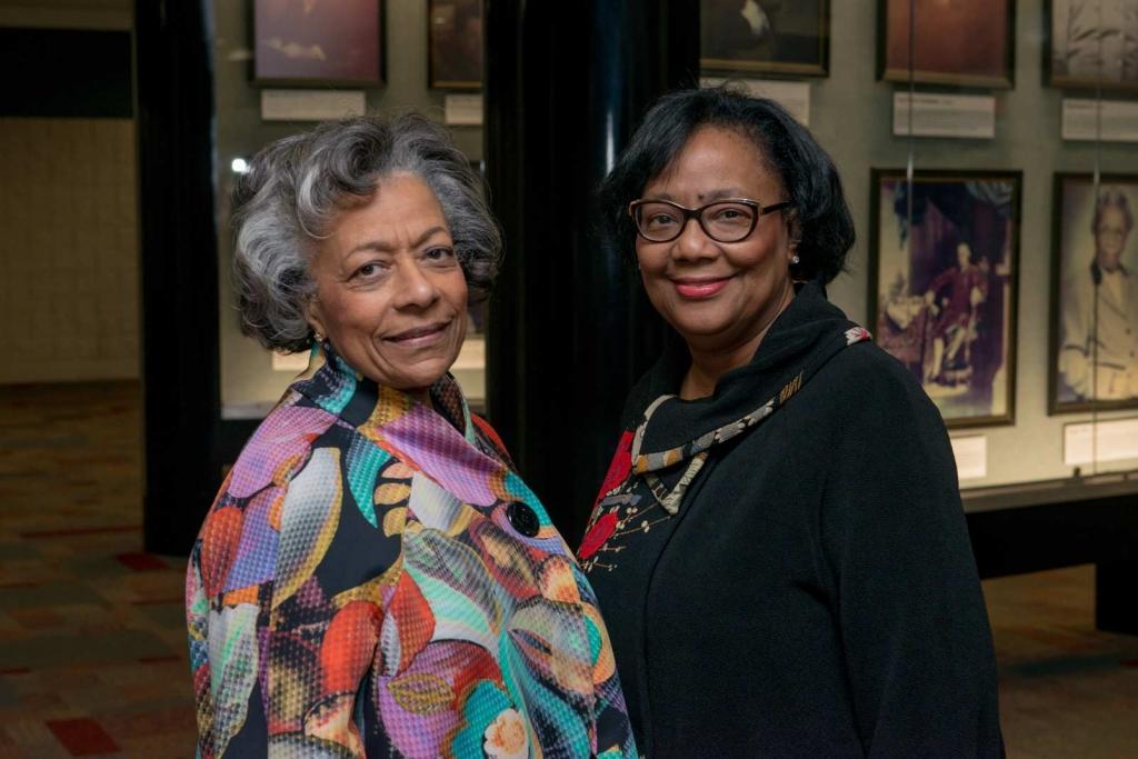 Patricia Lee & Deirdre Williams