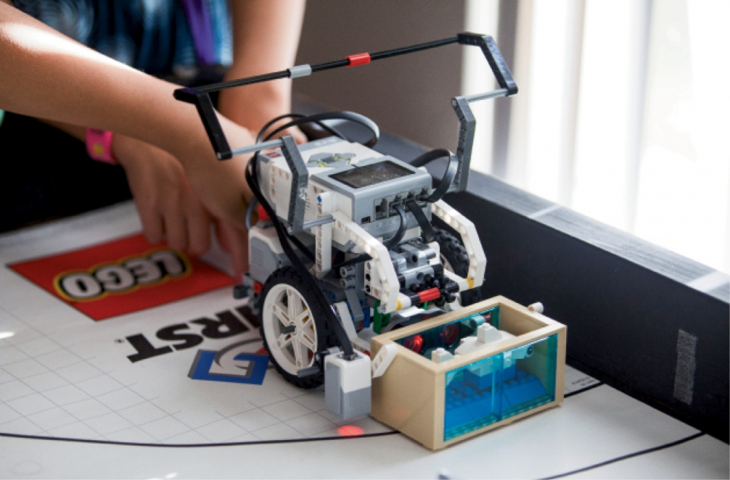 The official LEGO EV3 Mindstorms Robot costs teams almost $400 to purchase. Fortunately, The Grand Strand Technology Council helps fund most programs in Horry and Georgetown counties.