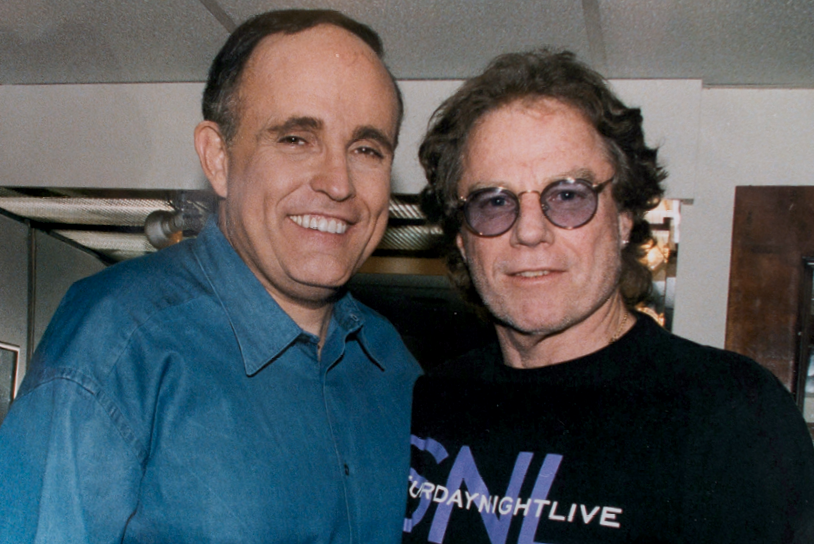 Howie and former New York mayor Rudy Gulliani.