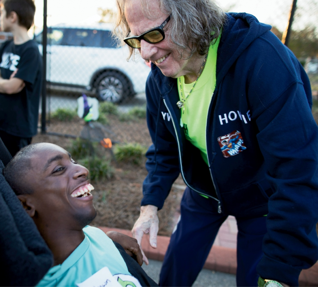 Weinberg has been volunteering with the group for more than a decade.