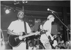 Rucker as the front man for Hootie and the Blowfish in the 1990s.