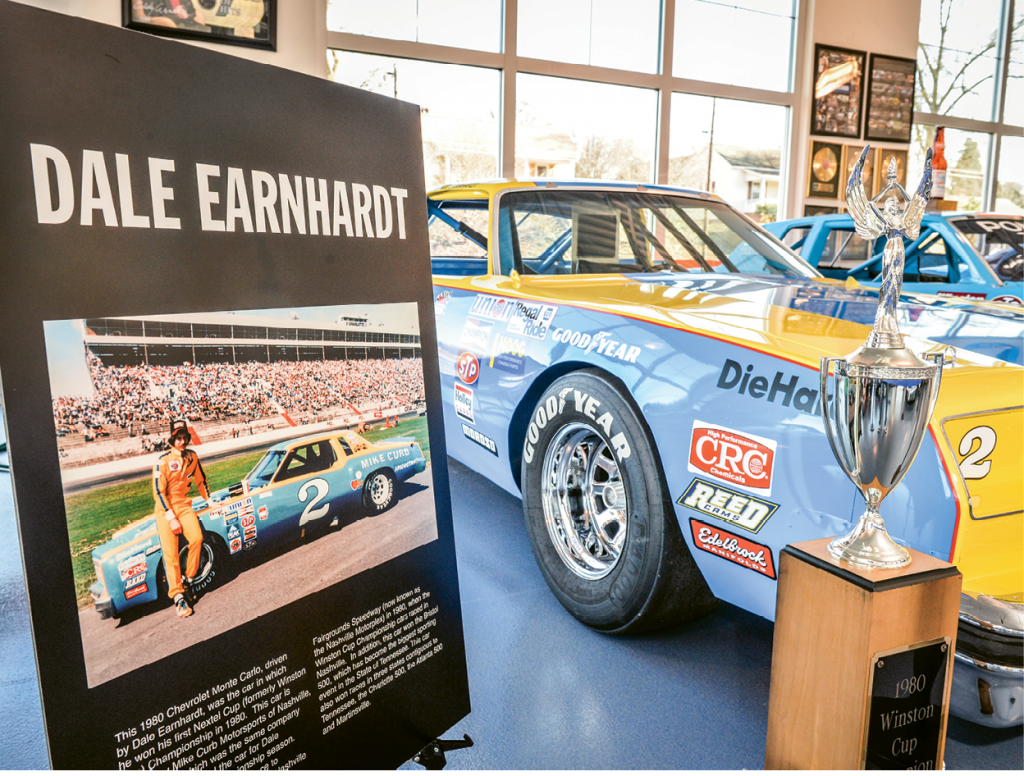 Cabarrus County is proud to claim Dale Earnhardt as one of its own.