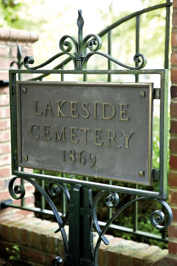 Time Keeper: Historic Lakeside Cemetery of Conway was originally the Burroughs family burial ground. Markers date back to the late 1800s, but simple wooden crosses found here are believed to be older, the inscriptions worn away over time and now impossible to decipher.
